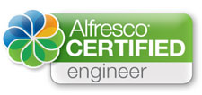Andreas Steffan, Alfresco Certified Engineer